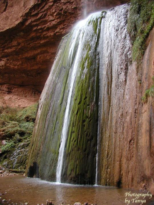 Ribbon Falls photo Grand Canyon