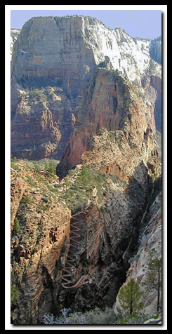 Zion's Angels Landing Trail