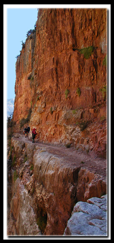 Kaibab Trail in the Grand Canyon