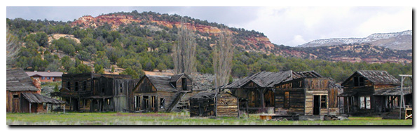 Grand Staircase National Monument - Ghost Town