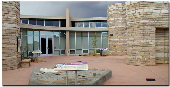 Grand Staircase Visitor Center at Big Water, Utah