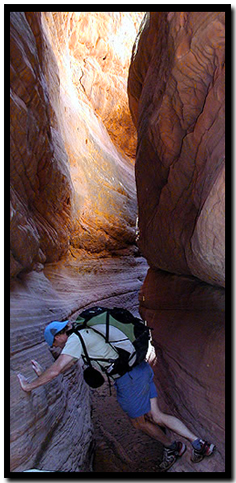 Red Cave Slot Canyon
