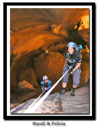 zion National Park Canyoneering