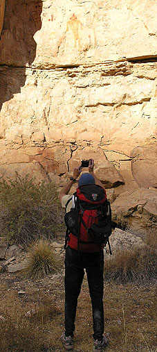 Snake Gulch Pictographs