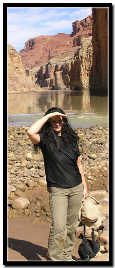 Tanya Miligan at the Grand Canyon - South Canyon