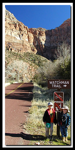 Zion's Watchman Trail
