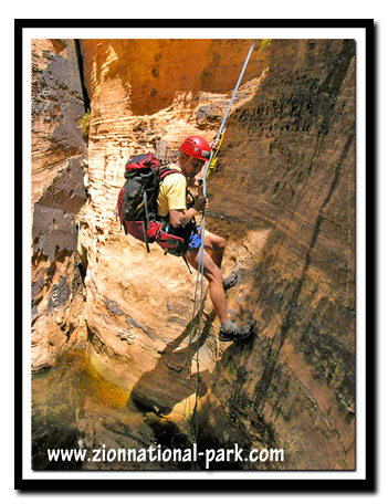 Zion: Bo Beck Canyoneering