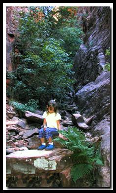 zions hidden garden hike - Hidden Garden