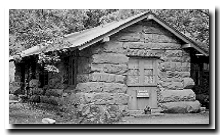 Zion's oldest standing building - The original Zion Museum - photo by NPS