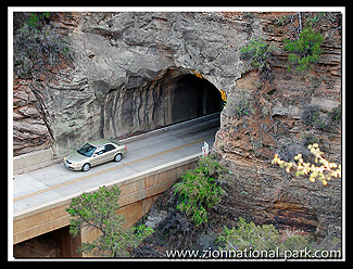 Zion Mt. Carmel tunnel