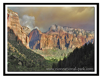 Zion's Red Arch Mountain