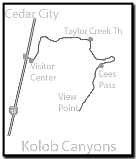 Kolob Canyons Map