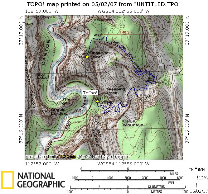 Observation Point Map