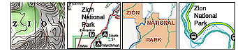 Zion National Park Maps